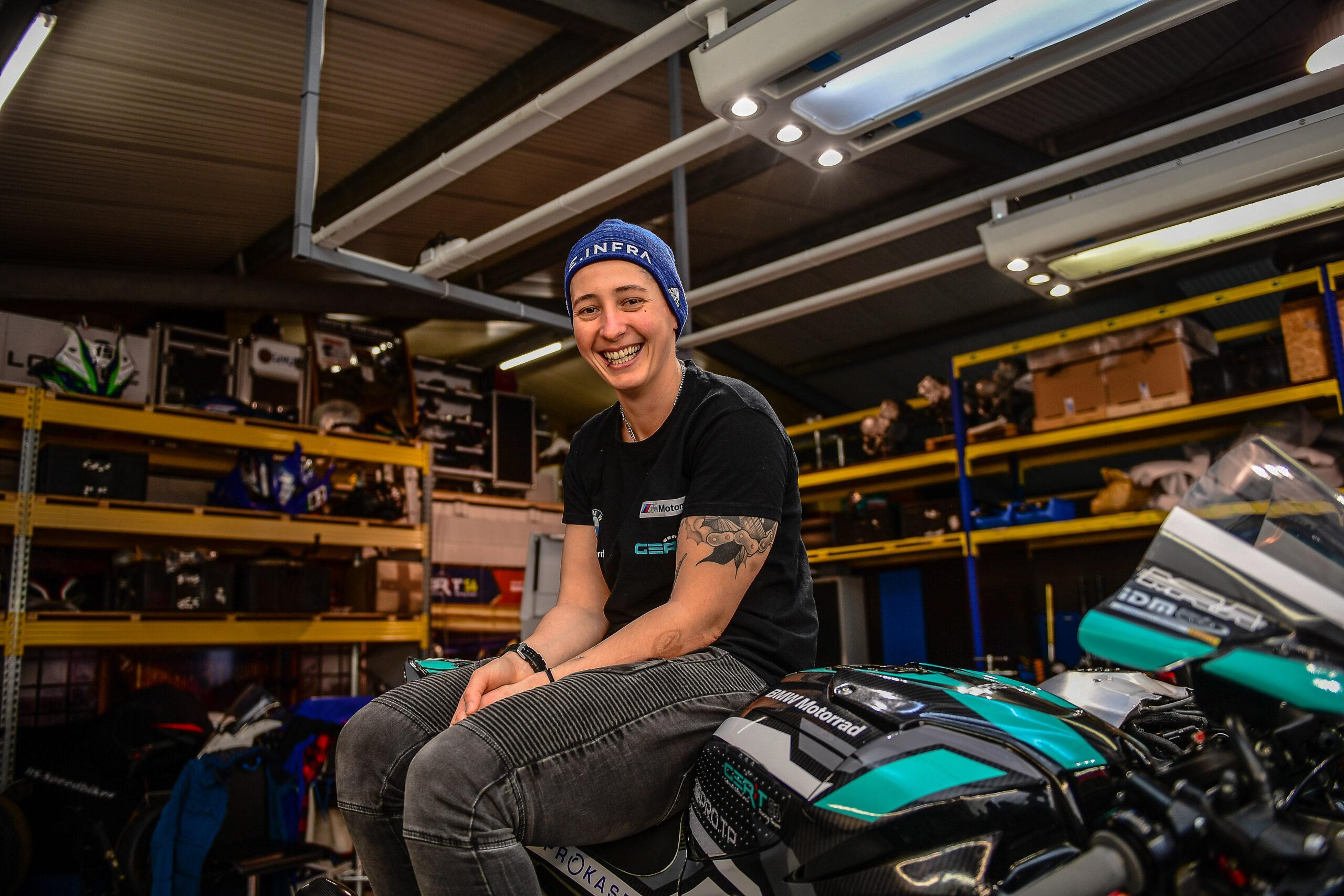 GERT56 verpflichtet Lucy Glöckner für IDM Superbike 1000